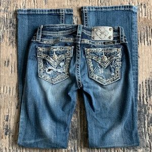 MISS ME Girls size 12 bootcut jeans